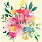 Summer Posy Birthday Single Card