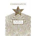 Congratulations on Being Awesome - Googly Eye Congratulations Single Card