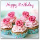 Cupcake Birthday Single Card