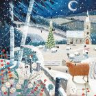 Moonlit Church Square Advent Calendar - Charity Christmas Gifts & Decorations