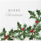 BC Holly Napkin - Charity Christmas Gifts & Decorations