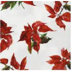 Botanical Poinsettia Napkins - Charity Christmas Gifts & Decorations