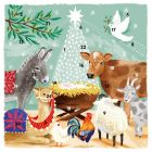 Away in a Manger Advent Calendar - Charity Christmas Gifts