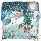 Winter Walks Advent Card - Cards For Good Causes Charity Christmas Cards