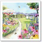 A Summer Picnic Everyday Blank Single Card