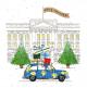 Festive London - Marie Curie Charity Christmas Cards