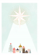 Silent Night - Marie Curie Charity Christmas Cards