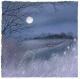 Winter Moon  -  Suffolk Wildlife Trust Charity Christmas Cards