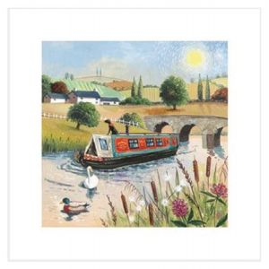 A Day On The River Everyday Single Card