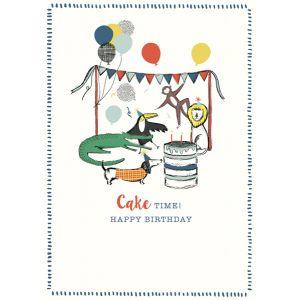 Cake Time! Happy Birthday - Happy Birthday Single Card