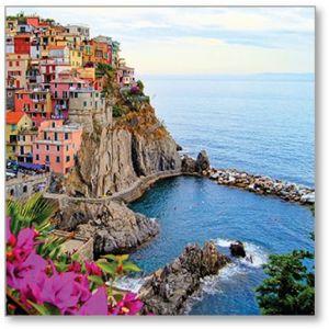 Village Of Manarola Italy Everyday Single Card