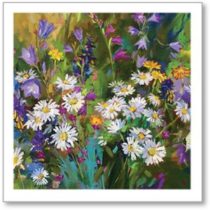 Daisies In The Garden Everyday Single Card