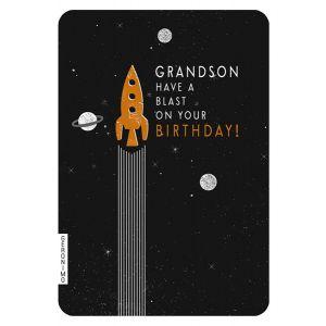 Grandson Birthday Single Card
