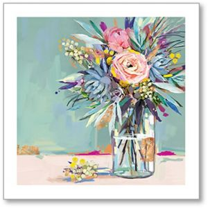 Jar Of Flowers Everyday Single Card