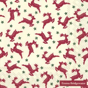 Reindeer Lunch Napkin - Charity Christmas Gifts & Decorations