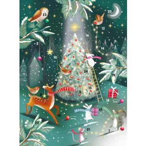 The Magical Tree Advent Calendar (34 x 25cm) - Charity Christmas Gifts & Decorations