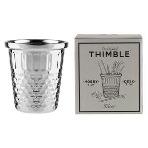 Silver Giant Thimble Hobby Tidy