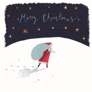 Santa's Arrival - Motor Neurone Disease Association Charity Christmas Cards