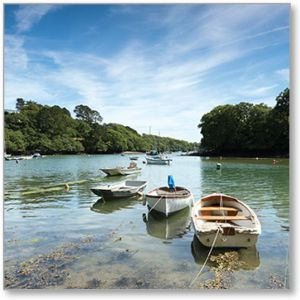 The Helford River Everyday Single Card