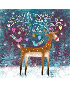 Reindeer Tree - National Autistic Society Charity Christmas Cards