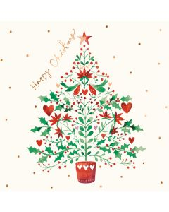Decorative Tree - Cards For Good Causes Charity Christmas Cards