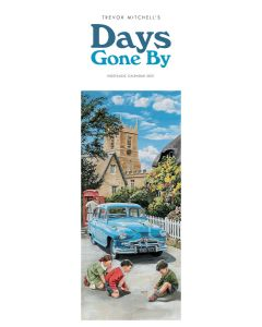 Days Gone By Trevor Mitchell Slim Calendar