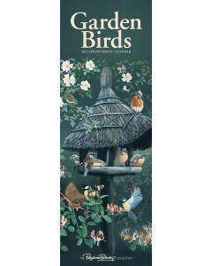 Garden Birds by Pollyanna Pickering Slim Calendar