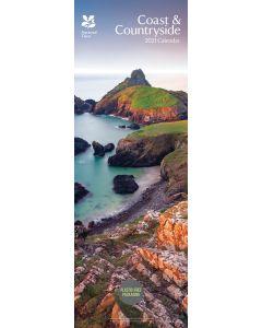 Coast and Countryside National Trust Slim Calendar 2021