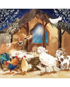 Around The Manger - Parkinsons UK Charity Christmas Cards