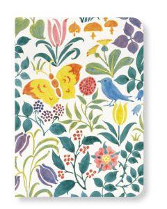 V&A Spring Flowers & Butterflies Mini Notebook