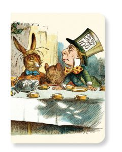 British Library Mad Hatters Tea Party Mini Notebook