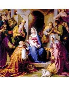 The Nativity - National Autistic Society Charity Christmas Cards
