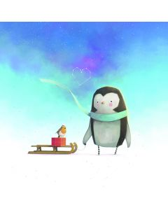 A Penguin's Love - National Autistic Society Charity Christmas cards