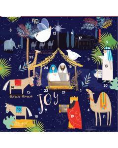Joy Advent Card - Cards For Good Causes Charity Christmas Cards