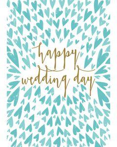 Happy Wedding Day Single Card