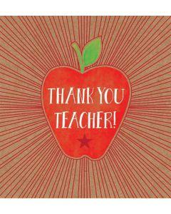 Thank You Teacher Single Card