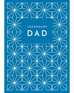 Legendary Dad Father's Day Single Card