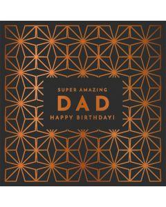 Amazing Dad Birthday Single Card