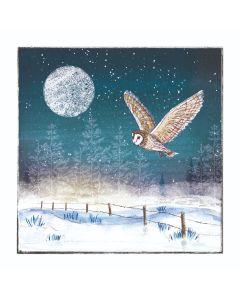 Moonlit Owl - Alzheimer's Society Charity Christmas Cards