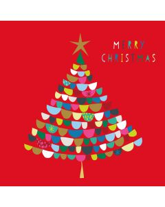 Merry Christmas Tree - Alzheimer's Society Charity Christmas Cards