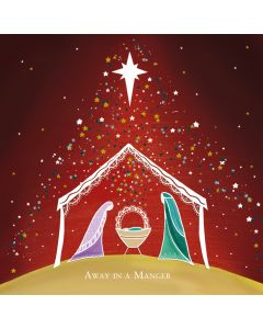 Away in a Manger - The Children's Society Charity Christmas Cards