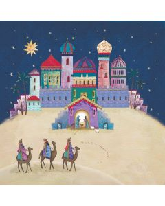 Journey to Bethlehem - Barnados Charity Christmas Cards