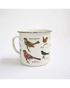 Ecologie Bird Enamel Mug