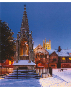 Bishops Hooper's Monument, Gloucester - Charity Christmas Cards