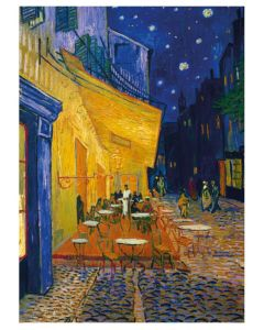 Cafe Terrace At Night Everyday Single Card