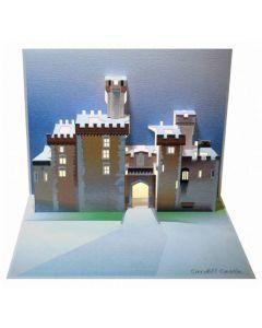 Cardiff Castle Pop Out Single Card