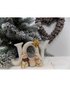 Joy Nativity Decoration - Charity Christmas Gifts & Decorations