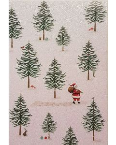 Father Christmas in the Snow - Charity Christmas Cards