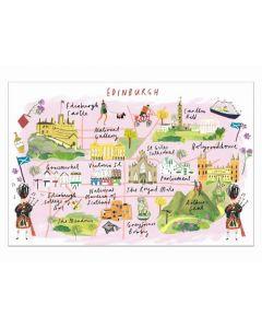 Jigsaw 500 Piece Rectangular - Wanderings Edinburgh