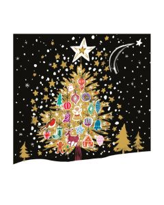 The Christmas Tree Beneath the Stars - Cards For Good Causes Charity Christmas Cards